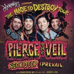 Pierce The Veil and Friends set to DESTROY the Warfield this Saturday