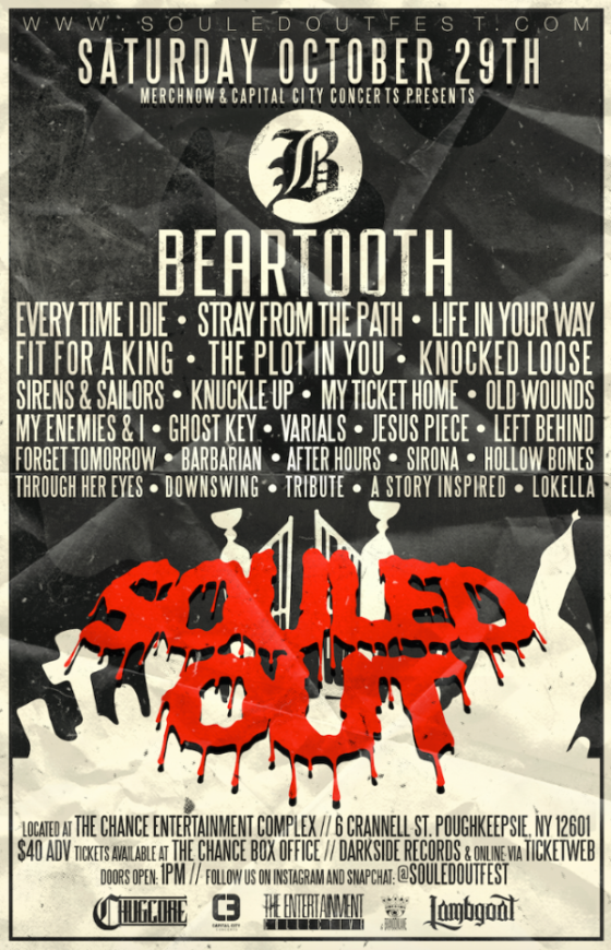 Beartooth, Every Time I Die, Fit For a King, and more are set to get SOULED OUT!