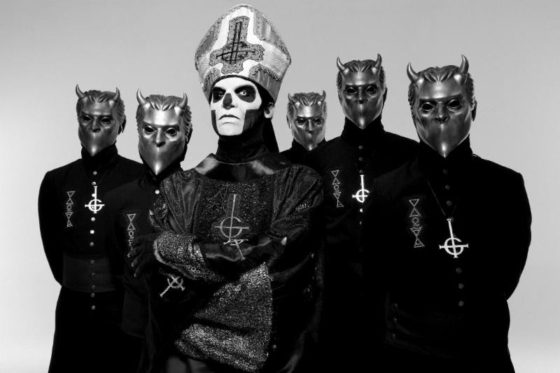 Ghost Announce New HEADLINING Dates For Summer Tour