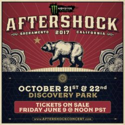 Monster Energy Aftershock Festival 2017 Lineup Announced