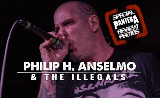 Philip H. Anselmo & The Illegals – Holy Diver – Sacramento – 11/11/18