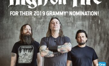 High On Fire Nominated For A Grammy!