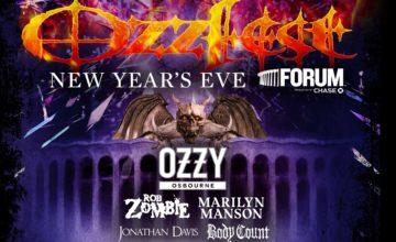Ozzy Healthy & Ready To Kill at Ozzfest!