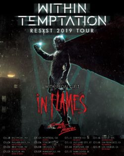 In Flames and Within Temptation to your U.S. in 2019!!
