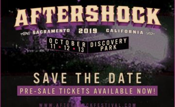 Aftershock Festival Upgrades to 3 days and tickets are on sale!