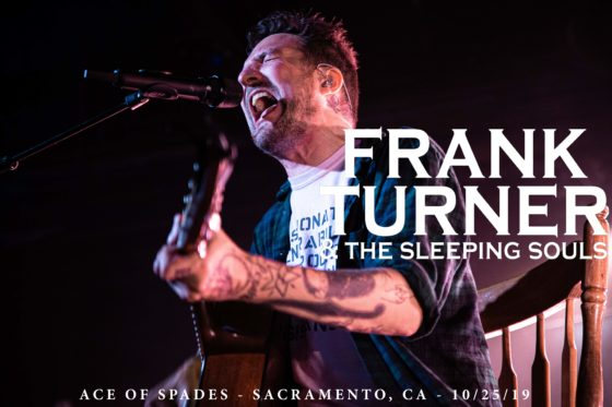 FRANK TURNER & THE SLEEPING SOULS – ACE OF SPADES – 10/25/19
