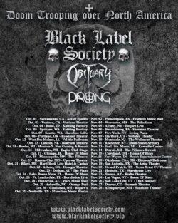 Black Label Society returns to a venue near you!